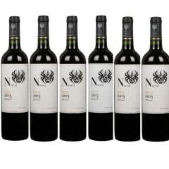 13.5°干露火玫瑰 珍藏佳美娜红葡萄酒750ml*6瓶