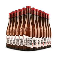 42°一担粮北京二锅头冒号 480ml*12瓶 整箱装