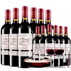 拉斐庄园2009珍藏干红葡萄酒红酒整箱12支醒酒器装750ml*12