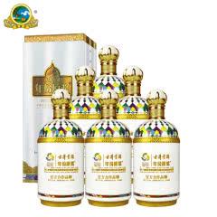 【酒厂直营】古井贡酒 哈萨克斯坦世博会纪念酒 45度750ML*6瓶 箱装