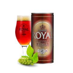 皇家(Royal)丹麦进口棕啤酒 1L(12罐装)