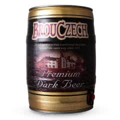 布鲁杰克(Brouczech)黑啤酒5L桶捷克进口