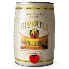 狩猎神(HUBERTUS)德国原装进口白啤酒桶装5L