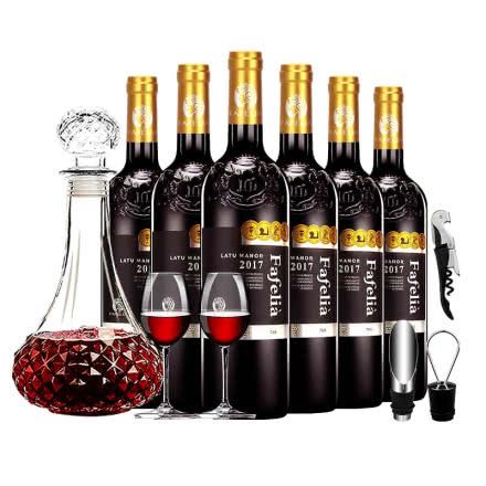 法菲妮·伯爵干红葡萄酒750ml*6瓶