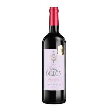 【随时随意波尔多】法国帝龙(中级庄)城堡干红葡萄酒750ml