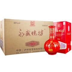 38°泸州老窖 永盛烧坊红6 浓香型白酒500ml(6瓶装)