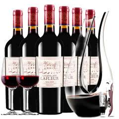 拉斐庄园2005珍酿进口红酒窖藏干红葡萄酒红酒整箱醒酒器装750ml*6