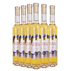 冰酒甜型11度 冰蓝美悦 碧曼冰酒 白葡萄酒整箱375ml(6瓶)