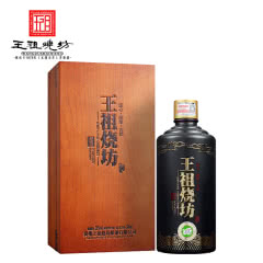 53°贵州茅台镇王祖烧坊·儒雅 酱香型白酒礼盒500ml