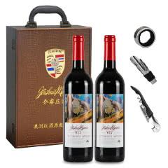 澳大利亚原瓶进口红酒乔睿庄园W17赤霞珠干红葡萄酒750ml*2