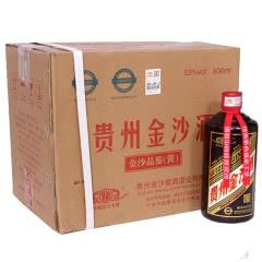 53°贵州金沙回沙品鉴酱色500ml(6瓶装)