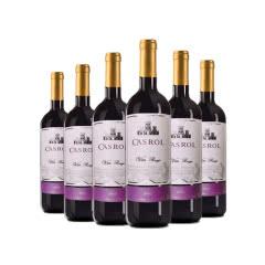 法国卡露优选红葡萄酒750ml*6