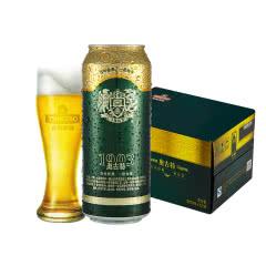 青岛啤酒(Tsingtao)奥古特12度500ml(12听) 大罐整箱装