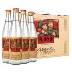 42°四川老窖酒-怀旧版 浓香型白酒480ml(4瓶装)