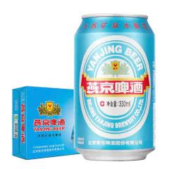 燕京啤酒 11度特制精品啤酒 330ml(24听装)