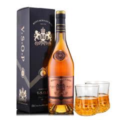 法国原瓶进口雅旭堡蒙博纳VSOP特选白兰地洋酒单瓶装750ml