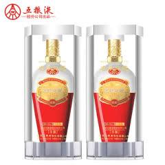 52°五粮液股份名家风范佳酿浓香型白酒500mL*2瓶装