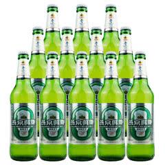 燕京啤酒 8度鲜啤鲜爽天下 500ml(12瓶装)