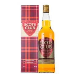 40°原装进口苏格兰俱乐部威士忌700ml