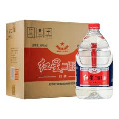 52度 红星二锅头酒 大桶装泡酒  5L*4瓶 整箱