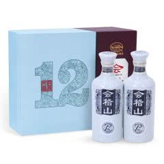 绍兴黄酒会稽山十二年陈花雕手工糯米酒500*2瓶青瓷商务礼盒花雕