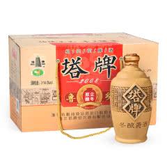绍兴黄酒塔牌2008冬酿半干月子糯米花雕酒手工黄酒10年整箱包邮