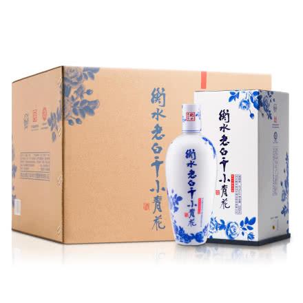 41°衡水老白干小青花酒500ml(6瓶装)