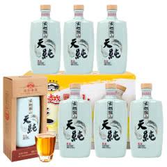 古越龙山 本色黄酒 青瓷天纯系列 500ml*6瓶整礼盒装无焦糖