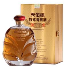 40度天佑德青稞酒 橡木青稞酒陈酿白酒青海互助500ml