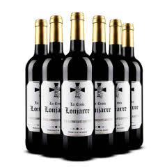 法国原瓶进口红酒 AOC级波尔多龙门十字干红葡萄酒 750ml(6瓶装)