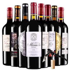 法国进口红酒拉斐传奇领衔拉斐庄园干红葡萄酒8支组合装750ml*8