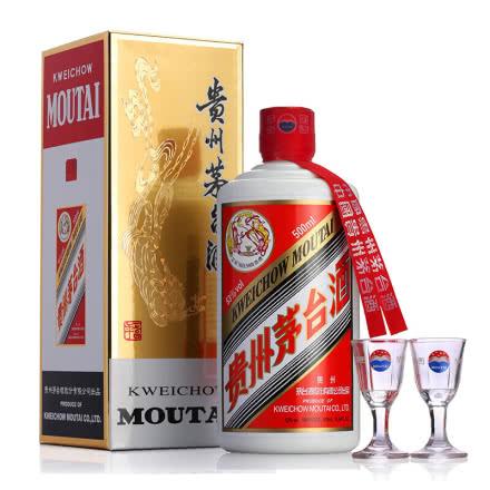 53°贵州茅台酒飞天茅台500ml 单瓶装(2018年)
