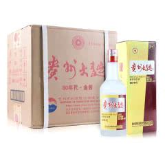 53°茅台贵州大曲80年代金酱 500ml(6瓶装)
