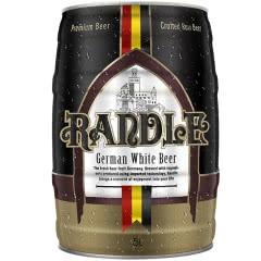 兰德尔精酿原浆黑啤酒5L桶装(5000mL畅饮装)