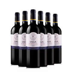 拉菲传说波尔多红葡萄酒750ml 6支装