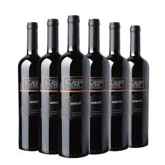 康纳斯顿梅洛干红葡萄酒(黑标)750ml 6支装