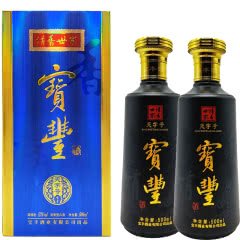河南白酒 宝丰酒 宝丰清香世家天字号酒52度清香型白酒500ml 2瓶