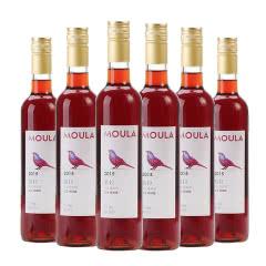慕拉(MOULA)红酒冰酒白葡萄酒整箱6支雷司令甜型酒赤霞珠红葡萄酒500ml*6