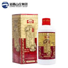 山庄老酒 铁帽子 纯粮食 浓香型 低度国产白酒 38度 250ml单瓶装