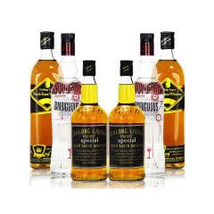 40°高朗(GAOLANG)洋酒【6瓶组合装】4瓶威士忌+2瓶暧昧伏700ml*6