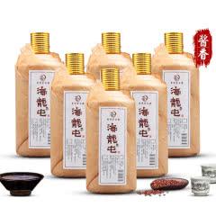 海龙屯酒典藏版53度酱香型白酒整箱500ml*6瓶