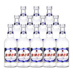 53°汾酒集团 汾牌老酒V8清香型白酒 425ml*12瓶整箱装