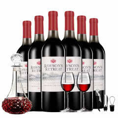 澳洲奔富原瓶进口红酒洛神山庄干红葡萄酒750ml*6整箱装