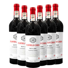 奔富克鲁斯BIN328赤霞珠西拉子干红葡萄酒整箱装(750ml*6瓶)