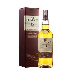 40°格兰威特15年醇萃单一麦芽威士忌700mL