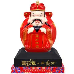 52度西凤酒国花瓷(招财纳福  财神酒)单瓶裸瓶 1000ml