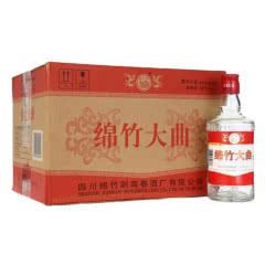 52度 剑南春酒厂出品 绵竹大曲 (红标)500ml 整箱白酒12瓶装