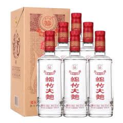 剑南春 绵竹大曲纯粮经典 52度500ml* 6瓶(整箱装)浓香型白酒