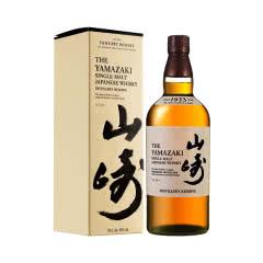 43°山崎1923日本单一麦芽威士忌700ml