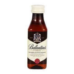 【小酒版】40°英国原瓶进口百龄坛特醇威士忌洋酒50ml